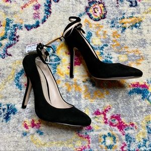 NWT Zara Woman Spring/Summer 13 Black Pumps 38/7.5
